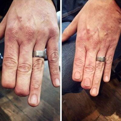 Niebywale Realistyczny Tatuaż Udający Paznokcie